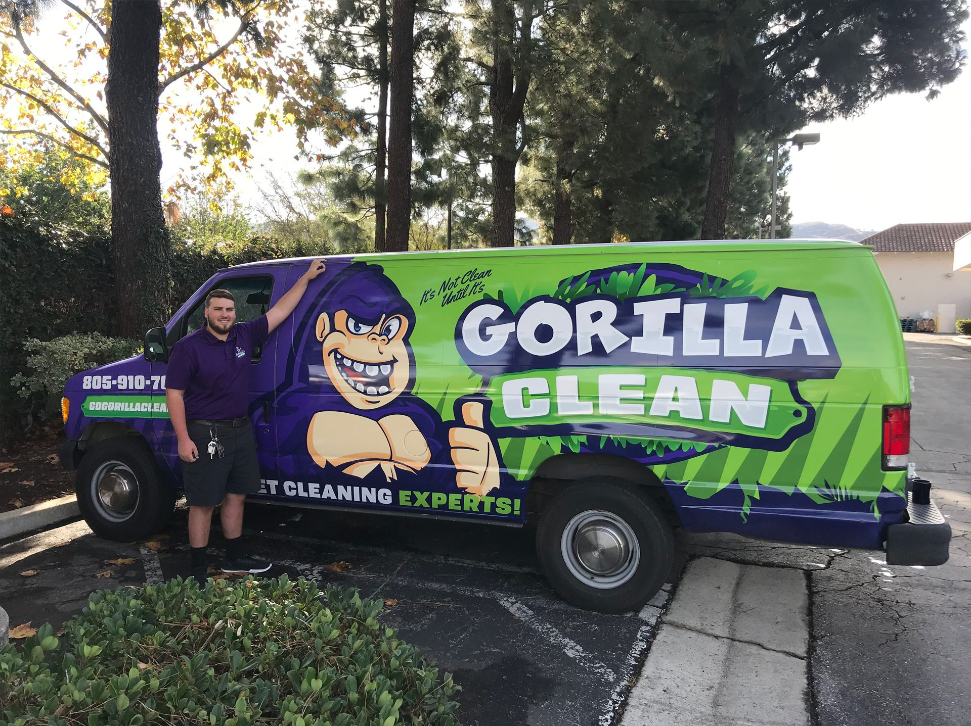 GoGorillaClean.com #1 carpet cleaner thousand oaks, ca